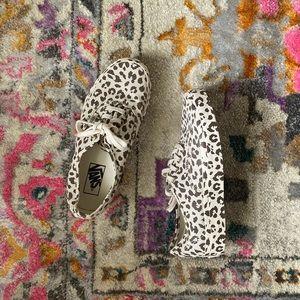 Leopard Print Vans Off The Wall